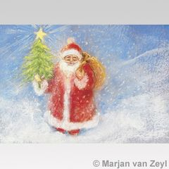 Father Christmas Postcard 1 pc