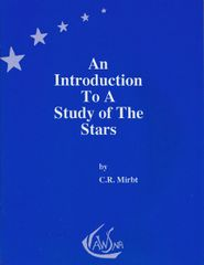 An Introduction to a Study of the Stars C. R. Mirbt