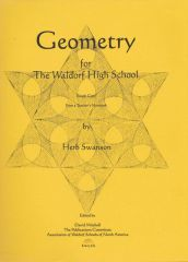 Geometry for the Waldorf High School by Herbert Swanson