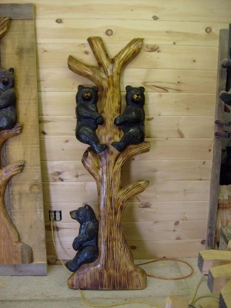The best of american made not for sale peewee s wood carvings
