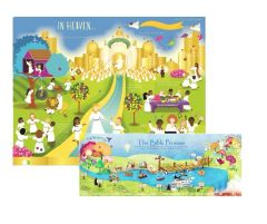 Heaven Poster Set - 2 Pack