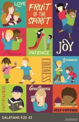 Fruit of the Spirit Poster for Kids