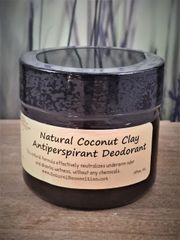 Coconut Clay Antiperspirant Deodorant
