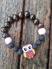 Kids Diffuser Bracelet, Owl