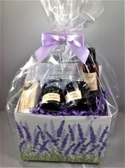 Lavender Fields Gift Basket