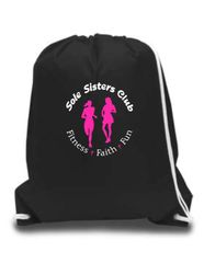 Sole Sisters Drawstring Bag