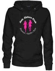 Sole Sisters Enza Women's VNeck Fleece Hoodie