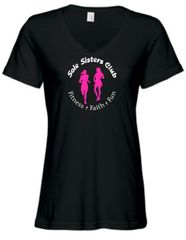 Sole Sisters Anvil Women's V Neck Tee