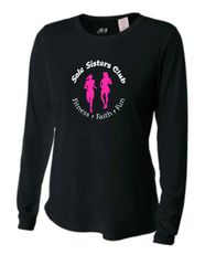 Sole Sisters A4 Long Sleeve Women's Cooling Performance Crew