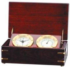 Rosewood Dual Clock - Q141