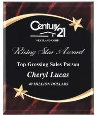 CP7SS - SHOOTING STAR SERIES - ACRYLIC AWARDS