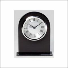 Black Glass Clock - Q415