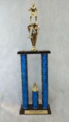 2 PILLAR TROPHY - SPORTS SERIES (STORE PICK-UP ONLY)