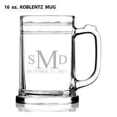 GLASS - MUG 16 oz. GLASS (STORE PICK-UP ONLY)