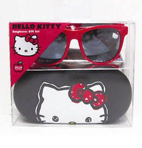 9b102a5cda New Red Frames Hello Kitty Sunglasses with Case