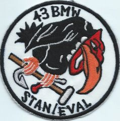 USAF PATCH 43 BOMBARDMENT WING STAN EVAL SECTION (MH)