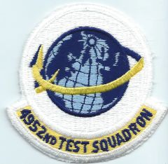 USAF PATCH 4952 TEST SQUADRON