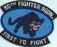 USAF PATCH 35 FIGHTER SQUADRON