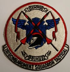 USAF PATCH 71 BOMBARDMENT SQUADRON ( TACTICAL ) B-57 LAON AFB FRANCE USAFE