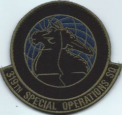 USAF PATCH 319 SPECIAL OPERATIONS SQUADRON**