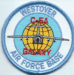 USAF PATCH 439 MILITARY AIRLIFT WING C-5 A WESTOVER AFB