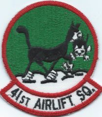 USAF PATCH 41 AIRLIFT SQUADRON DYESS AFB C-130