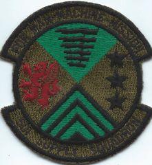 USAF PATCH 501 SUPPLY SQUADRON RAF GREENHAM COMMON