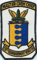 USAF PATCH 28TH BOMBARDMENT WING CREW CIEF (MH)