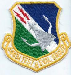 USAF PATCH 4443 TEST & EVALUATION GROUP