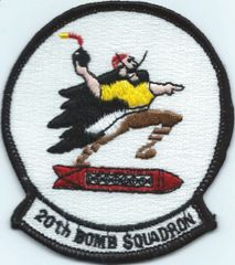 USAF PATCH 20 BOMB SQUADRON B-52 BARKSDALE AFB