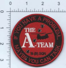 RAF PATCH 18 SQUADRON B FLIGHT AFGHAN MADE ON VELCRO