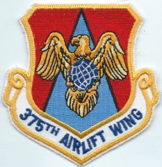 USAF PATCH 374 AIRLIFT WING