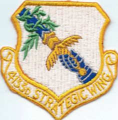 USAF PATCH 4133 STRATEGIC WING (MH)