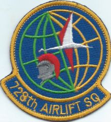 USAF PATCH,728 AIRLIFT SQUADRON