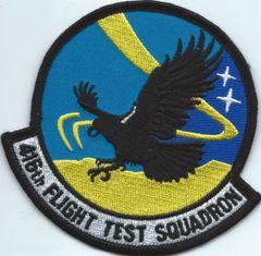 USAF PATCH 416 FLIGHT TEST SQUADRON