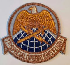 USAF PATCH 7 SPECIAL OPERATIONS FLIGHT