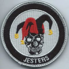 USAF PATCH 823 BASE DEFENCE SQUADRON ON VELCRO