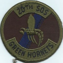 USAF PATCH 20 SPECIAL OPERATIONS SQUADRON