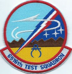 USAF PATCH 6516 TEST SQUADRON