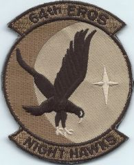 USAF PATCH 64 EXPEDITIONARY RESCUE SQUADRON ON VELCRO**