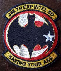 USAF PATCH RARE 488 EXPEDITIONARY INTEL SQUADRON SOUDA BAY