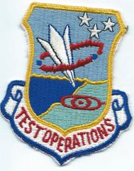 USAF PATCH 3246 TEST WING