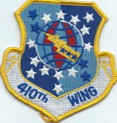 USAF PATCH 410 WING (MH) ACTIVE SEPT 1991-JUNE 1992