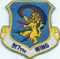 USAF PATCH 917 WING BARKSDALE AFB (MH)