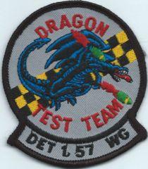 USAF PATCH DET 1 57 WING F-117 TEST UNIT HOLLOMAN AFB