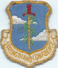 USAF PATCH 380 BOMBARDMENT WING PLATTSBURGH AFB (MH)