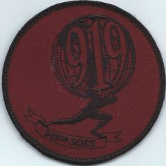 USAF PATCH 919 SPECIAL OPERATIONS SUPPORT SQUADRON **