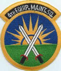 USAF PATCH 4 EQUIPMENT MAINT SQUADRON