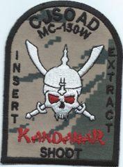 USAF PATCH 73 SPECIAL OPERATION SQUADON KANDAHAR SHOOT