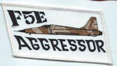 USAF PATCH 527 AGGRESSOR SQUADRON F-5 RAF ALCONBURY
